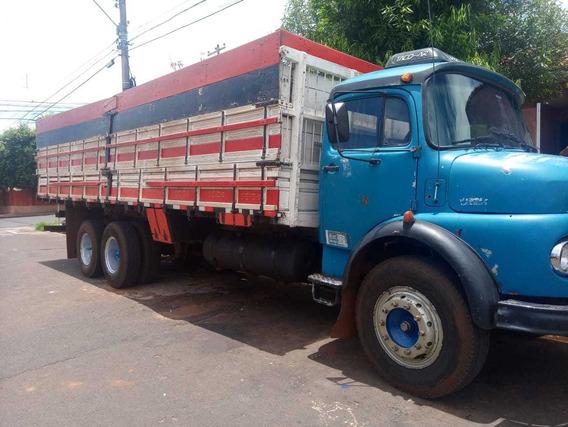 Mb 1113 Ano 74 Turbo E Hidraulico - Graneleiro
