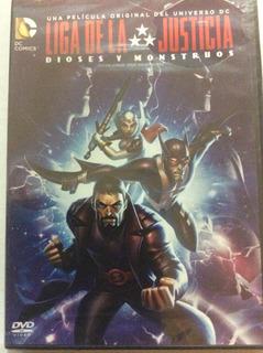 Liga De La Justicia: Dioses Y Monstruos - Dvd