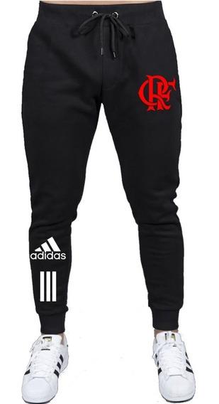 Calça Abrigo Flamengo Rubro Negro Calça Mengão Fla Qualidade