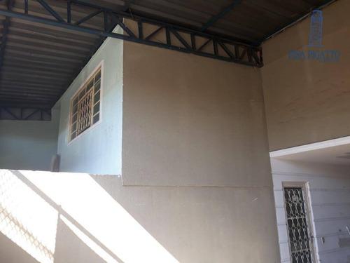Casa Com 1 Dormitório À Venda, 180 M² Por R$ 400.000,00 - São José - Paulínia/sp - Ca2105