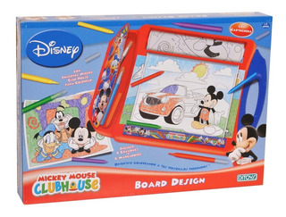 Kit Artistico Board Design Mickey Club House Ditoys Original