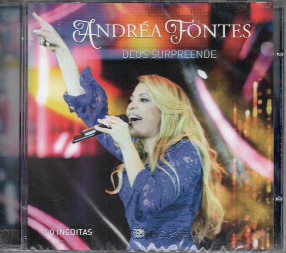 Cd Andréa Fontes - Deus Surpreende
