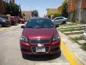 Auto Aveo Color Cereza, 2013 Excelente Y Bonito!!!