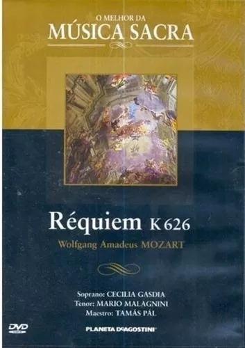 Mozart, Réquiem K626 - Dvd | (lacrado)
