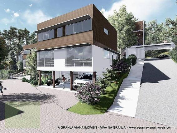 Casa Residencial À Venda, Miolo Da Granja Viana, Cotia. Ca0601 Agv - Ca0601