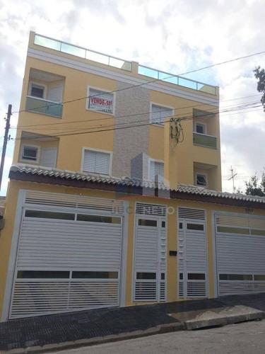 Cobertura Nova Sem Condomínio, Acesso Interno - Vila Camilópolis - Santo André/sp - Co0087