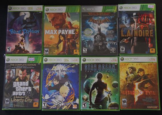 Coleção 13 Jogos Xbox Lacrados