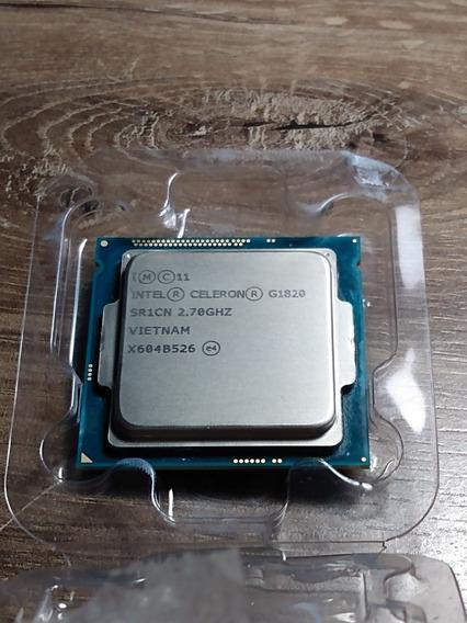 Processador Celeron G1820 2.7 Ghz Lga 1150 (seminovo)