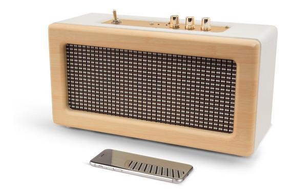 Caixa De Som Conect Bateria Bluetooth 40w Retro Vintage