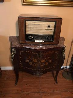Radio Antigua Grande Alemana Grundig Para Decoracion