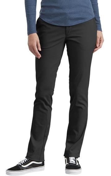 Fp212 Pantalon Gabardina-algodon Dama Dickies