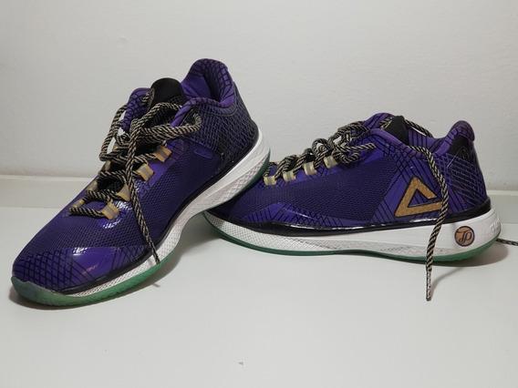 Zapatillas Tony Parker Iv - Peak- Como Nueva Sólo 2 Usos