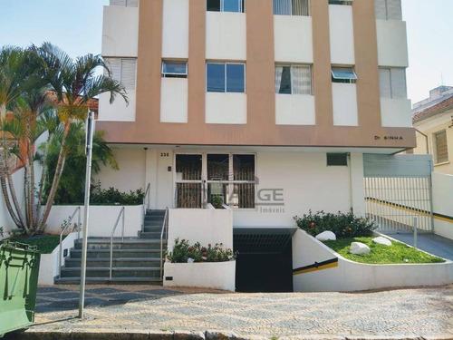 Imagem 1 de 12 de Apartamento Para Alugar, 50 M² Por R$ 800,00/mês - Centro - Campinas/sp - Ap19172