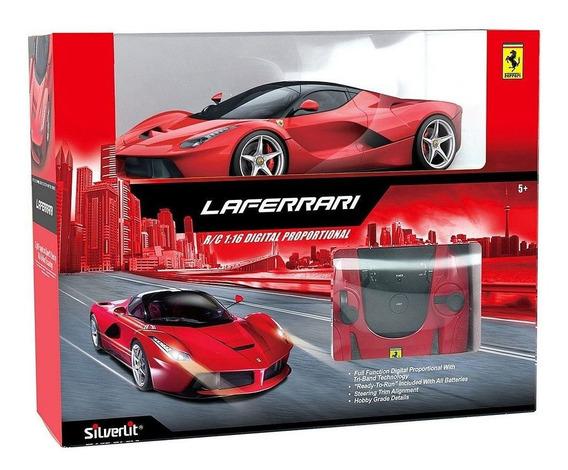 Ferrari Modelo Laferrari Radio Control Silverlit Escala 1:16