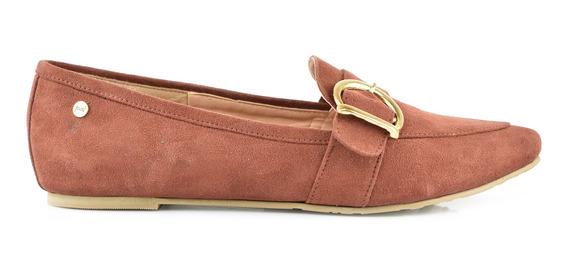Flat Para Mujer Lob Footwear 455-9647 Marrón Nuevo Oi19