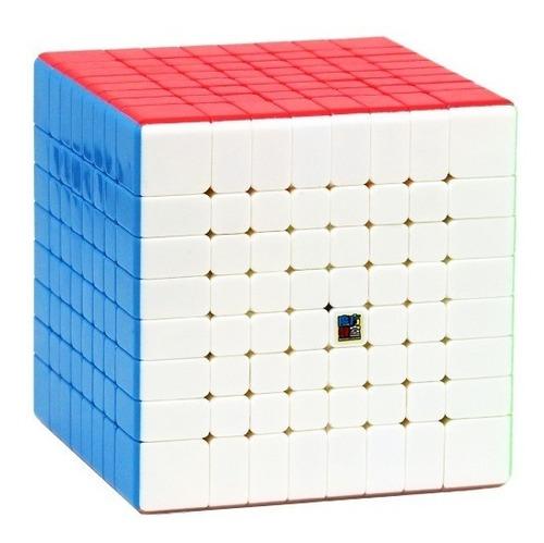 Imagem 1 de 5 de Cubo Mágico 8x8x8 Moyu Mf8 Mofang Jiaoshi Colorido