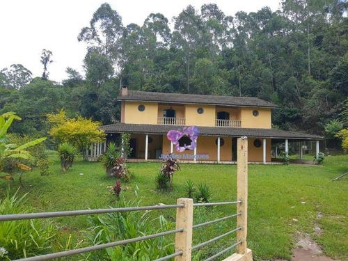 Chácara Com 2 Dormitórios À Venda, 4300 M² Por R$ 850.000,00 - Bairro Da Lagoa - Araçariguama/sp - Ch0128