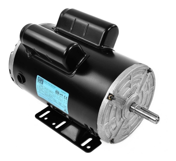 Motor Eléctrico Monofásico 2 Hp Weg 12165929 1735 Rpm