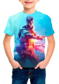 Camiseta Infantil Game Battlefield 5 - M002
