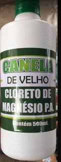 Canela De Velho Com Cloreto De Magnesio 500ml 15 Garrafas