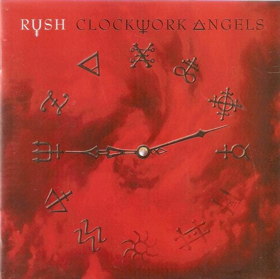 Cd Rush - Clockuork Angels - Novo Lacrado***