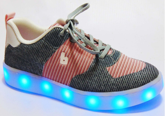 Zapatilla Luz Led Bibi P/cargar 24/36 Art 97906 Divertidas