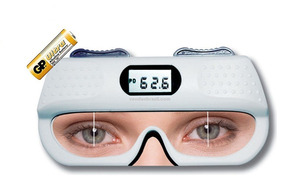 Pupilometro Digital He710 Optometria Oftalmo Dp E Dnp
