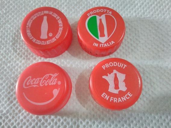 Lote De Tapas Pet De Coca Cola