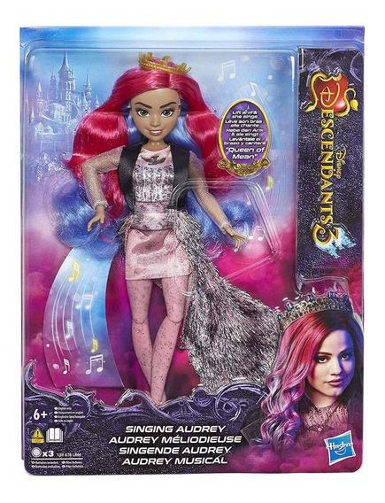 Boneca Descendentes - Audrey Musical - Disney Original