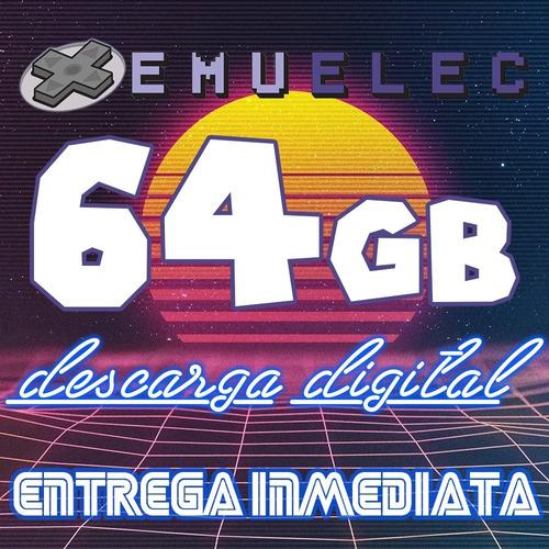 Archivo Imagen Emuelec 64g P/ Microsd Tv Box Roms Juegos