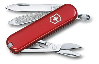 Canivete Chaveiro Classic Victorinox 7f Varias Cores