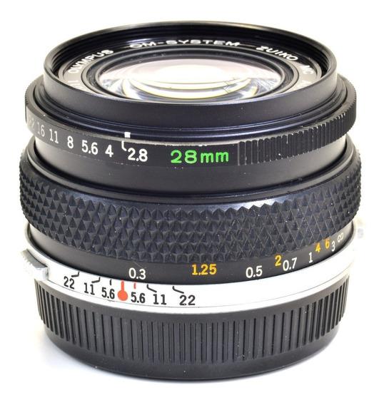 Objetiva Olympus 28mm 158011