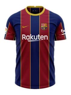 Camisa Barcelona Espanha 2020/21 - Envio Imediato