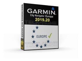 Mapa Gps Garmin Europa 2019.20 + Radares Top