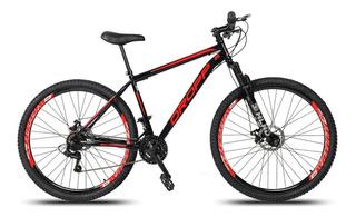 Bicicleta Aro 29 Dropp Em Aço 21v C/suspensão Freio A Disco