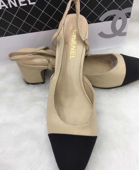 Sapato Couro Bicolor Novo Original
