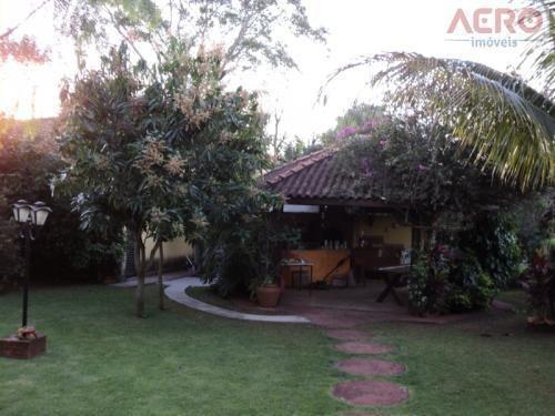 Casa Residencial À Venda, Centro, Arealva - Ca0068. - Ca0068