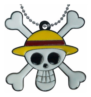 One Piece Dije Collar Calavera One Piece