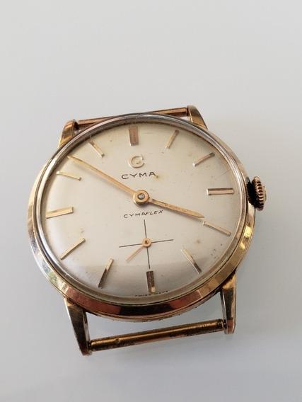 Relógio Antigo Cyma Cymaflex