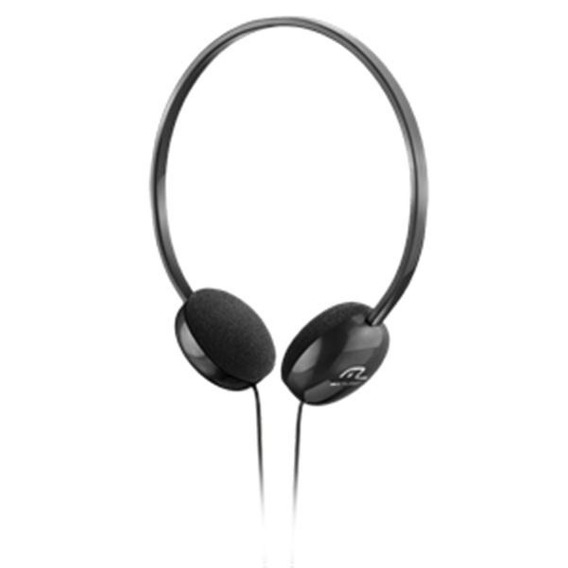 Fone De Ouvido Headphone Preto Multilaser Ph063