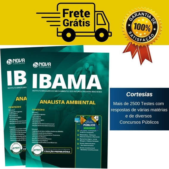 Apostila Analista Ambiental Ibama - Super Apostila Completa