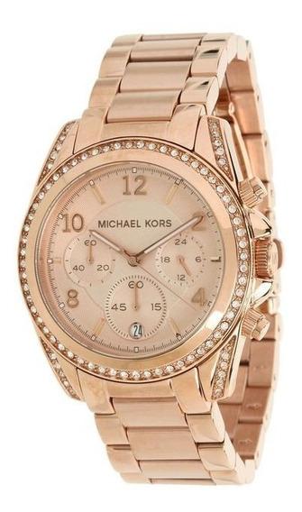 Promoção Lindo Relógio Feminino Michael Kors Rosê Mk5263