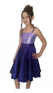 Vestido Infanto-juvenil Festa Luxo