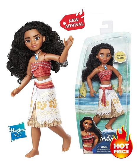 Bella Muñeca Disney Moana De Oceania Original Habro