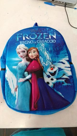 Mochila Infantil Frozen 3d Alto Relevo