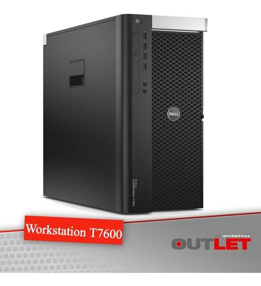 Workstation Dell Precision T7600 X2 Xeon E5-2665 2.4ghz 32gb