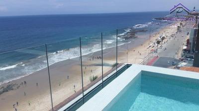 Apartamento Para Temporada Em Salvador, Barra, 1 Dormitório, 1 Suíte, 2 Banheiros, 1 Vaga - 699
