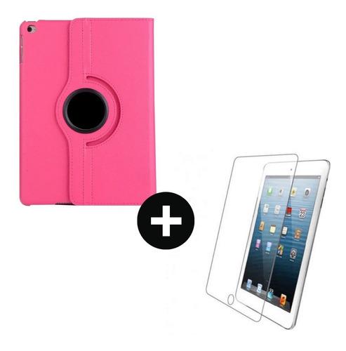 iPad Air 1 Estuche Protector Giratorio 360º +vidrio Templado
