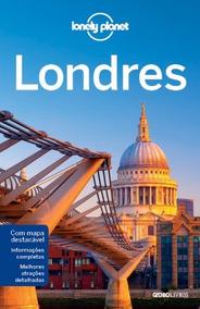 Guia Lonely Planet - Londres - Com Mapa Destacável