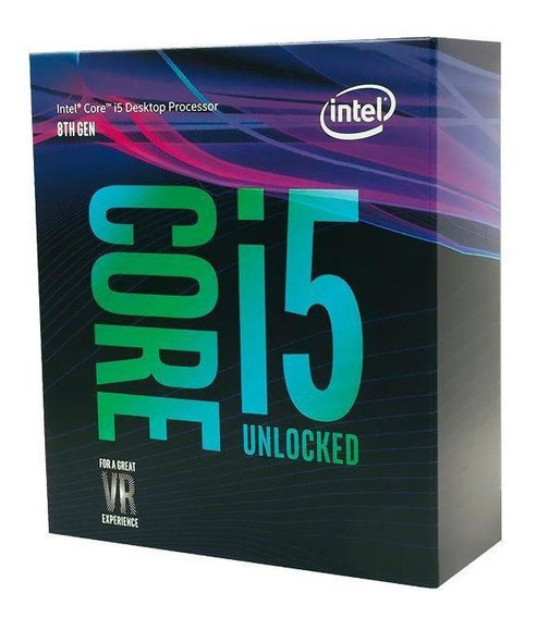 Processador Intel Core I5-8600k Coffe Lake 4.3ghz 9mb